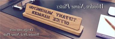desk name plates for desk in wonderful name plates to make any