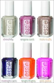 cuddle color essie fall 2009 collection makeup4all