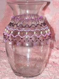 Beaded Vases 3 Easy Ways To Decorate Your Vase With Beads Fashion Beads And