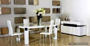 White Kitchen Table And Chairs by Kitchen Tables And Chairs 20 Creative Designs And Ideas