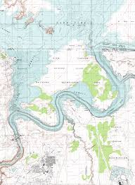 Arizona Topographic Map by Fred U0027s Guide To Lake Powell Antelope Canyon