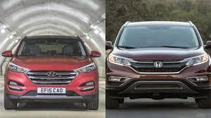 compare honda crv and hyundai tucson 2016 hyundai tucson vs honda cr v