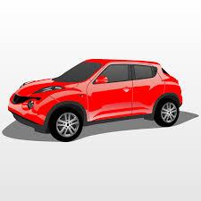 nissan car png vector for free use nissan juke vector