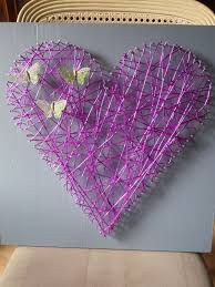 coeur en papier crepon diy ma marraine la bonne fee