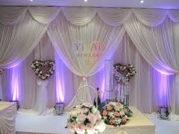 wedding backdrop on stage 2015 background shaman curtain wedding props supplies wedding