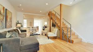 This Weeks Find Breezy Contemporary Interior In A Capitol Hill - Row house interior design
