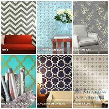 Removable Wallpaper Tiles by Removable Wallpaper Bungalow Home Staging U0026 Redesign