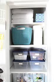 iheart organizing organized linen closet
