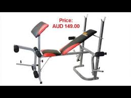 Weider Pro 256 Combo Weight Bench Veloce Fitness Multi Station Gym Bench Youtube