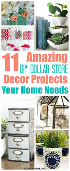 dollar store home decor 11 diy dollar store home decorating projects a cultivated nest