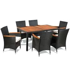 Chair Dining Table Black Dining Table And 6 Chairs Dining Table And 6 Chairs Rattan