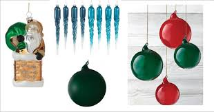 look martha stewart glass ornaments only 0 99 shipped was 16 00