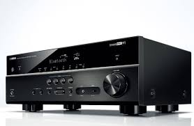 compact home theater receiver yamaha black 5 1 channel network av receiver rx v483bl
