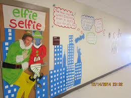 Buddy The Elf Christmas Decorations Christmas Classroom Door Decorations Buddy The Elf Spreading
