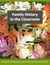 family history in the classroom cover jpg