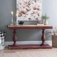 Rustic Hallway Table Console Tables Entryway Tables Kirklands