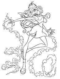 winx club coloring