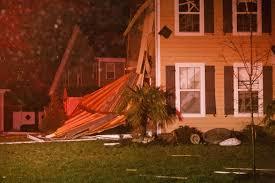 photos tornado deals major damage to virginia beach and