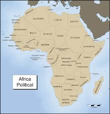 map with names of countries in africa africa map with names of countries africa map
