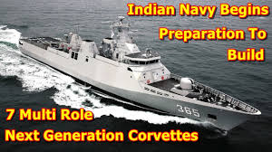 build a navy indian navy begins preparation to build 7 multi next