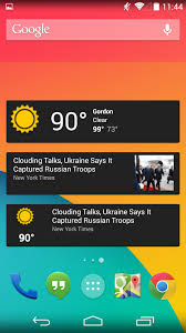 news widgets for android s news weather app aka the genie widget gets a