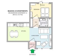 one bedroom apartment in apartments bilkova make reservation floor