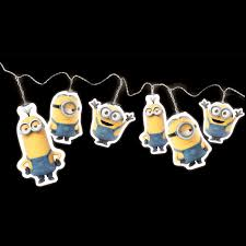 minions kids bedroom lighting night light lamp bedside light