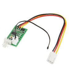 zhiyu 12v one way pwm four wire fan temperature controller for