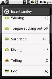 android meaning android tip smiley meanings mostlynerd
