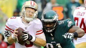Blind Side Block Penalty 49ers Get Beat Up In More Ways Than One Against Eagles Nbc Bay Area