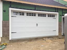 Overhead Garage Door Austin by C H I Overhead Doors Model 5916 Long Panel Steel Carriage House