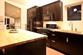 Kitchen Design With Black Appliances Kitchens With Butcher Block Counters Kitchen Decor