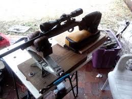 Bench Rest Shooting Rest Webster U0027s Redneck Shooting Rest