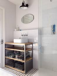 Industrial Style Bathroom Style Bathroom Basin Cabinet