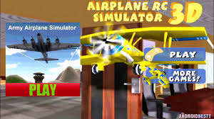 flight simulator planes