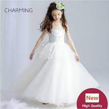 kids wedding dresses prom dress girls pageant dress high quality