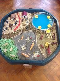 wheels world play table farm small world for playground tub of wheel cars montessori