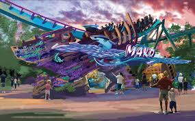 Sea World Orlando Map by Seaworld Orlando Plans 73 Mph Coaster For Summer 2016