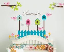 Nursery Wall Decor Letters Nursery Wall Decals House Removable Stickers 130 Style To Choose