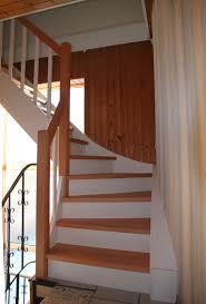 treppe zum dachboden treppe zur dachboden hier geölten buchenholz und weiße anstrich