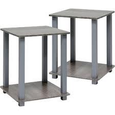 plastic u0026 acrylic end u0026 side tables you u0027ll love wayfair