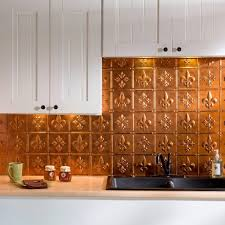 fasade 24 in x 18 in fleur de lis pvc decorative tile backsplash