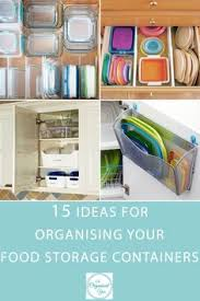 7 Clever Design Ideas For 7 Clever Ways To Organize Food Storage Containers Storage