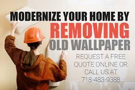 wallpaper removal bolo clean