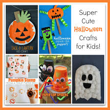 Childrens Halloween Craft Ideas - cute halloween crafts for kids