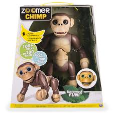 bentley zoomer scheda tecnica del prodotto zoomer chimp scimmia robotica robot d