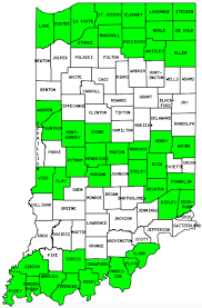 Indiana Counties Map Indiana Counties Visited With Map Highpoint Capitol And Facts