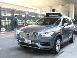 2016 volvo big rig how uber embarrassed volvo in california business insider