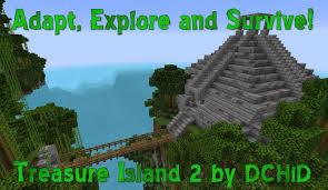 How To Use Minecraft Maps Treasure Island 2