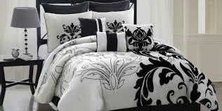 Walmart Black And White Bedding Bedding Set Appealing Black N White Bedding Sets Momentous Black